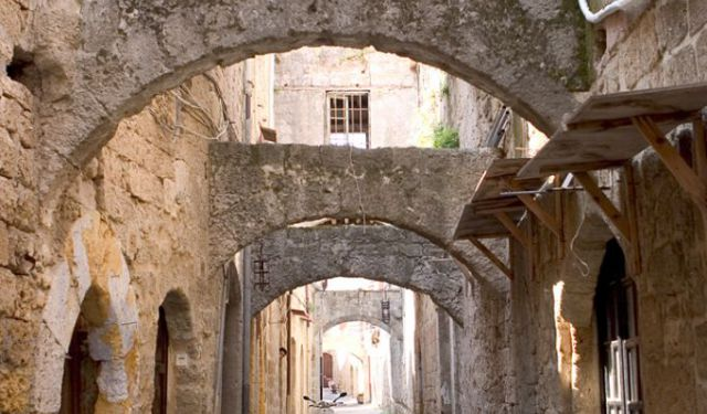 Medieval Town Landmarks Tour of Rhodes Rhodes Greece