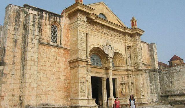 Santo Domingo Colonial Churches Santo Domingo Dominican Republic