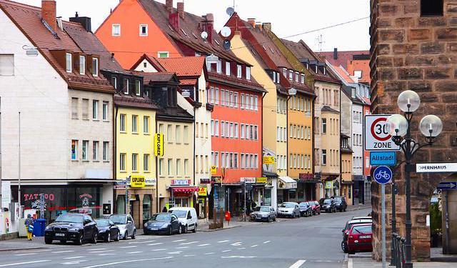 shopping tour in nuremberg altstadt nuremberg germany. Black Bedroom Furniture Sets. Home Design Ideas