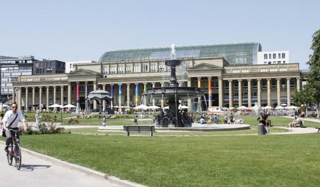 City Orientation Walk Stuttgart Germany