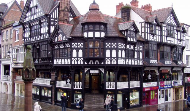 Chester's Black-And-White Architectural Tour, Chester