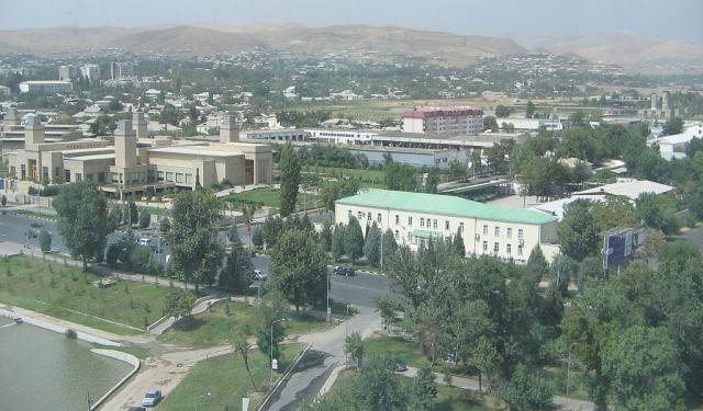 City Orientation Walk I, Dushanbe
