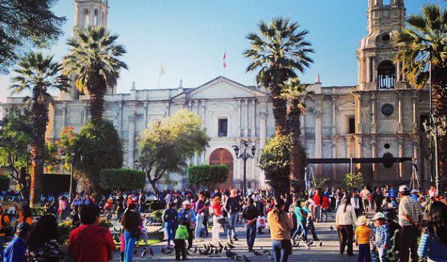 Arequipa Introduction Walk, Arequipa