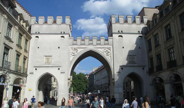 Kreuzviertel Attractions Walking Tour, Munich