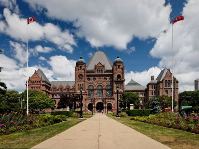 Ontario Parliament, Toronto