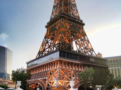 Eiffel Tower at the Paris Las Vegas Hotel, Las Vegas