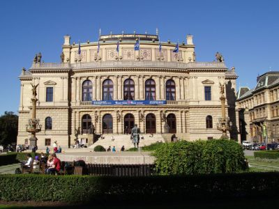 The Rudolfinum Art Gallery, Prague