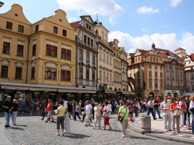Republic Square, Prague