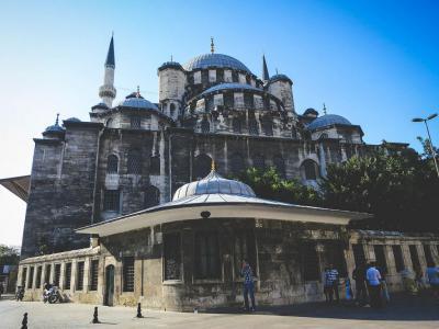 Rustem Pasha Mosque In Istanbul