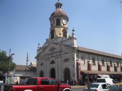 Church and Convent of the Franciscan Recoleta, Santiago