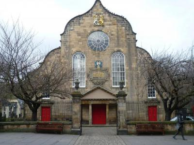 Kirk of the Canongate Chapel
