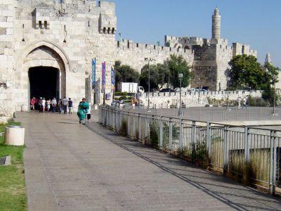Jerusalem Old City Gates Walking Tour (Self Guided