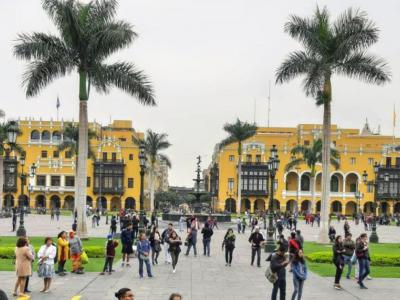 Plaza de Armas (Plaza Mayor), Lima