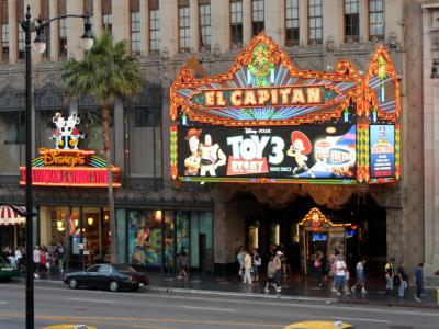 El Capitan Theatre, Los Angeles