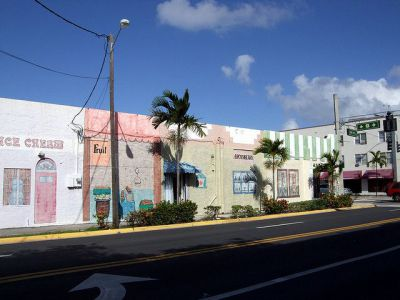 Dania Beach Shopping and Dining District, Fort Lauderdale