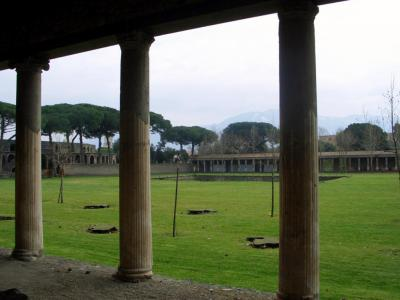 Great Palaestra, Pompei
