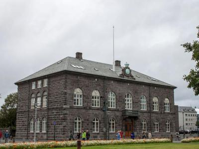 Althingishus (The Parliament House), Reykjavik