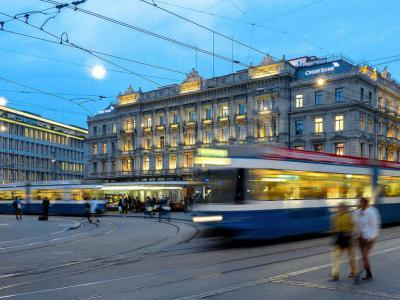 Square Paradeplatz Zurich