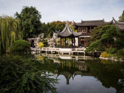 lan su chinese garden portland - Lan Su Chinese Garden