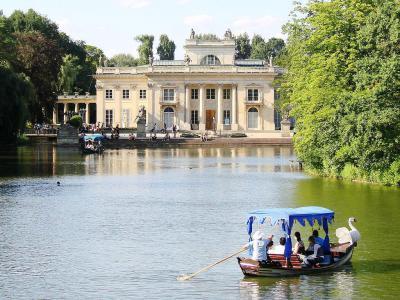 Royal Baths łazienki Park Warsaw