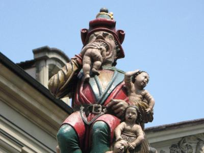 Kindlifresserbrunnen (Child Eater Fountain), Bern