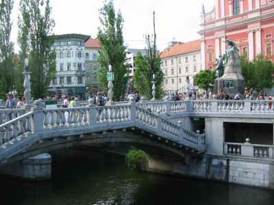 Triple Bridge, Ljubljana