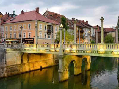 Cobblers' Bridge, Ljubljana