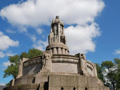 The Bismarck Memorial, Hamburg