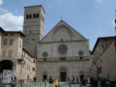 Assisi Cathedral of San Rufino