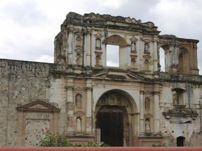 Church and School of the Society of Jesus (ruins), Antigua