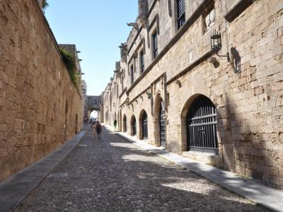 Street of The Knights (Ipoton Street), Rhodes