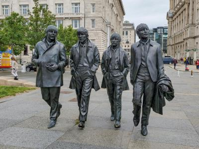 Beatles Statues, Liverpool