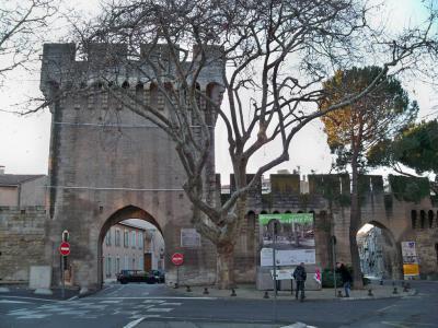 City wall porte saint lazare avignon - Porte saint dominique avignon ...