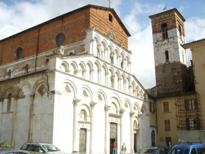 Church of Santa Maria Forisportam, Lucca