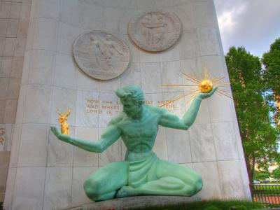 """Spirit of Detroit"", Detroit"