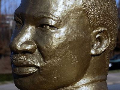Bust of Dr. Martin Luther King, Jr., Greensboro
