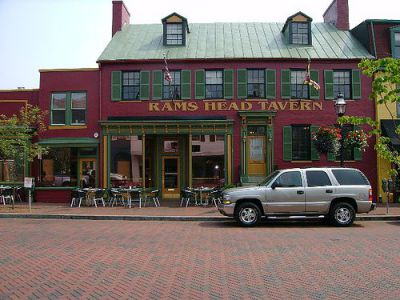 Rams Head Tavern, Annapolis