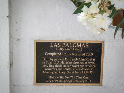 Las Palomas – Cary Grant Estate, Palm Springs