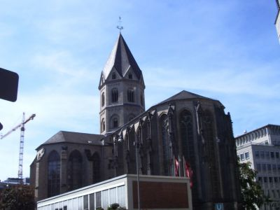 st andreas church cologne must see - Koln Must See
