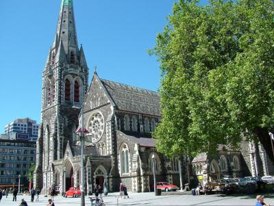 Christchurch Cathedral, Christchurch