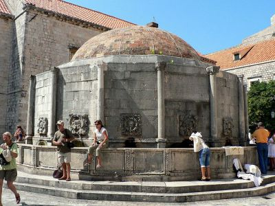 Large Onofrio's Fountain, Dubrovnik