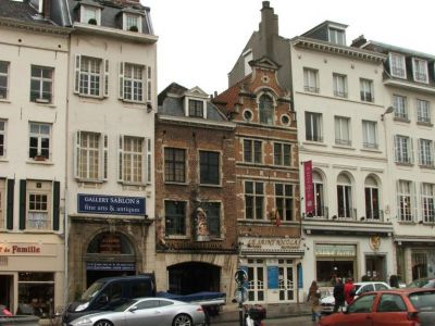 Sablon Antiques Center, Brussels