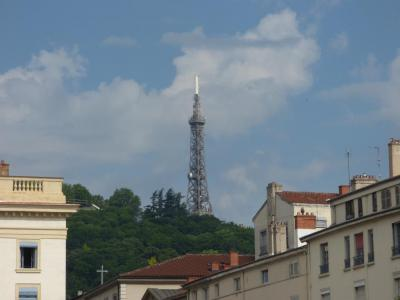Metallic Tower of Fourviere, Lyon