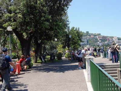 self guided walking tour sorrento