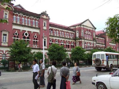 Colonial Buildings, Yangon
