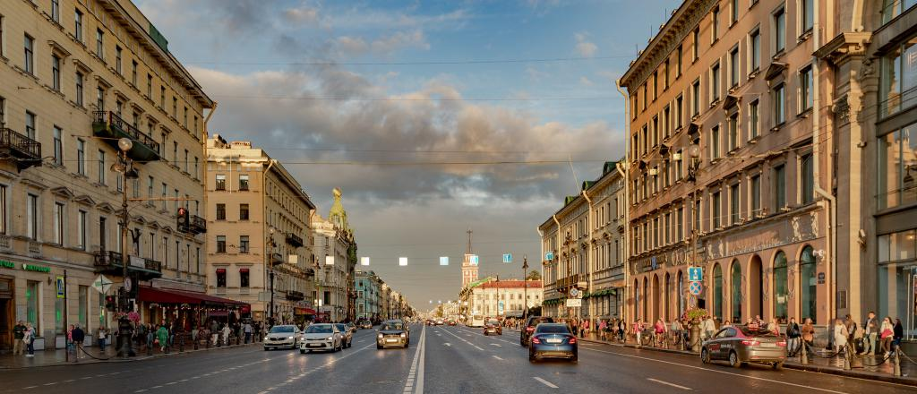 Nevsky Prospekt Walking Tour Self Guided St Petersburg