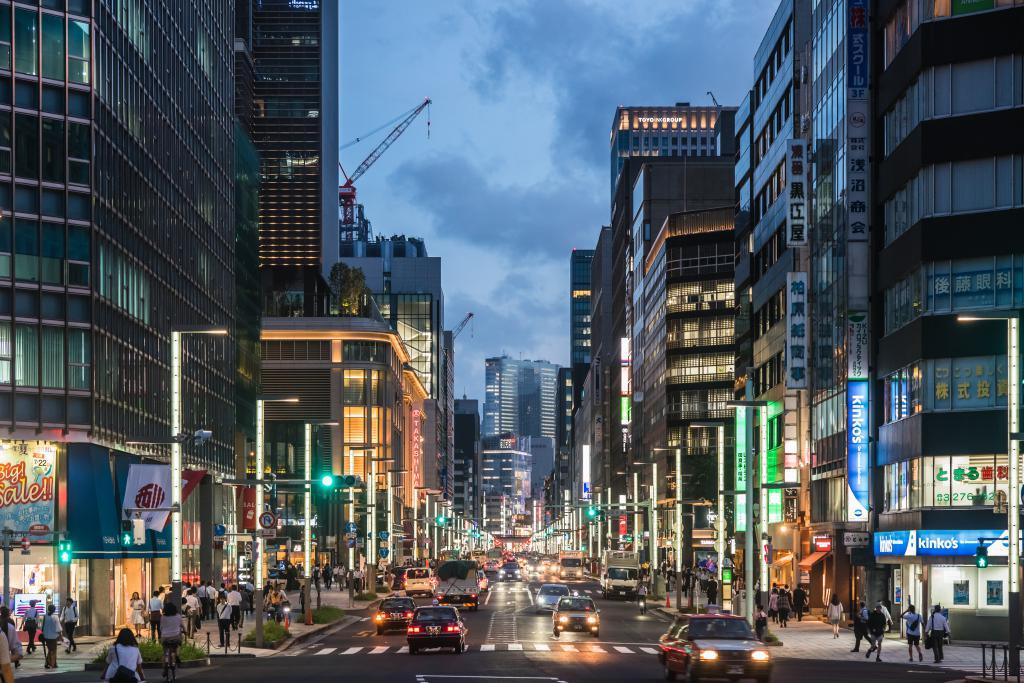 Osaka Compared To New York City