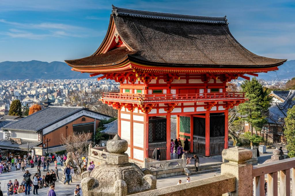 Higashiyama Area Walking Tour Kyoto Japan