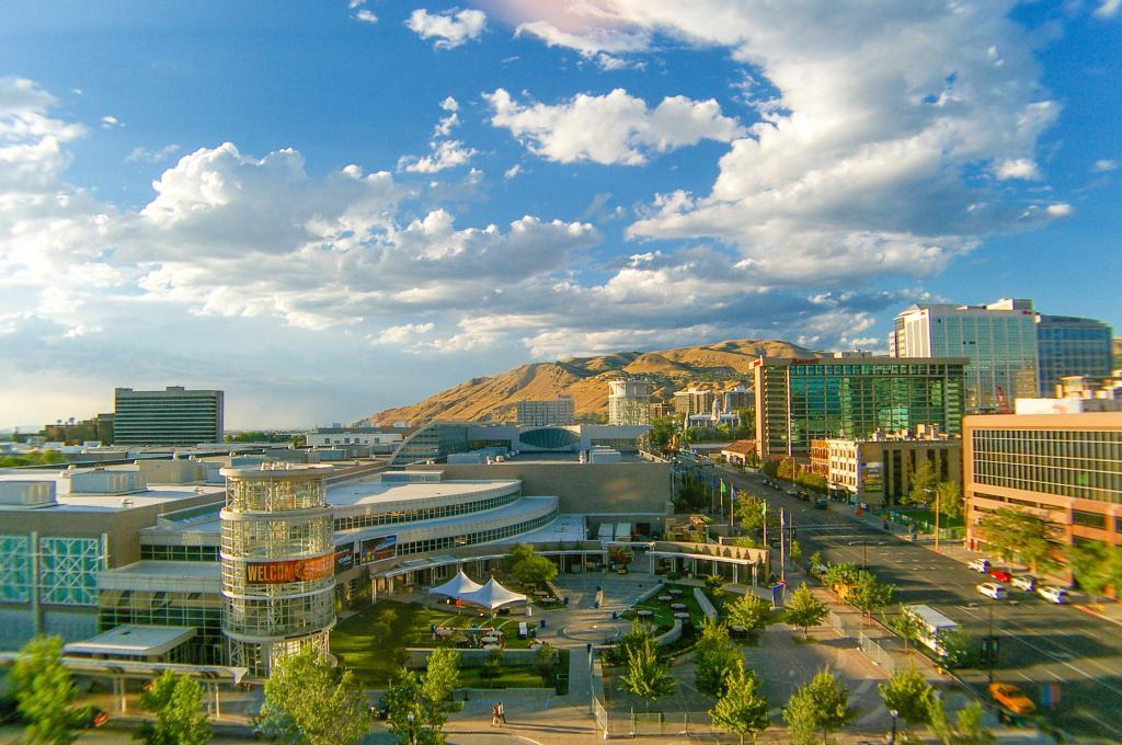Places To Live Salt Lake City: Salt Lake City Temple Square Tour, Salt Lake City, Utah