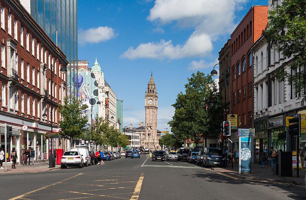 Belfast Introduction Walk Self Guided Belfast Ireland